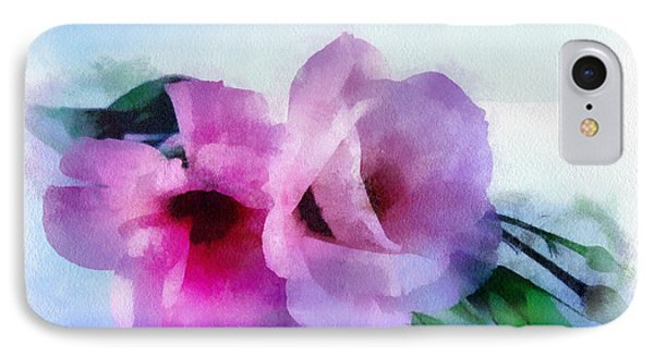 Flower Softly IPhone Case by Barbara R MacPhail