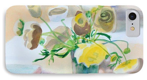Flower Still Life          Phone Case by Kathy Braud
