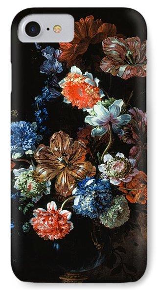 Flower Still Life IPhone Case by Jean-Baptiste Monnoyer