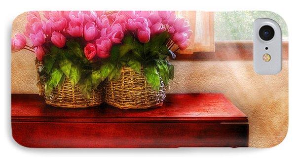 Flower - Tulips By A Window IPhone Case