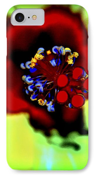 Flower With'in Phone Case by Kathy Sampson