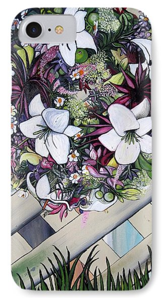 Floral Wreath IPhone Case