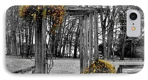 IPhone Case featuring the photograph Flowering Archway by Tara Potts