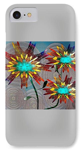 Flowering Blooms IPhone Case by Iris Gelbart