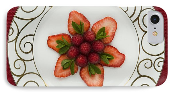 Flowering Fruits Phone Case by Anne Gilbert