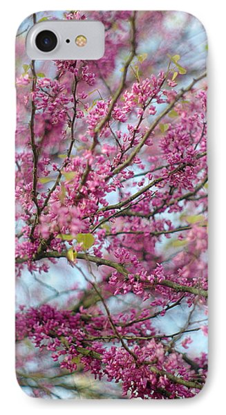IPhone Case featuring the photograph Flowering Redbud Tree by Suzanne Powers