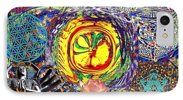 Flowering Shiva Phone Case by Jason Saunders