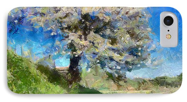 Flowering Tree IPhone Case by Dragica  Micki Fortuna