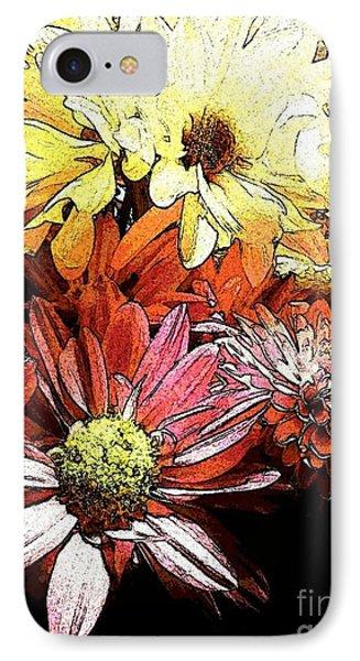 Flowerpower IPhone Case by Susan Townsend