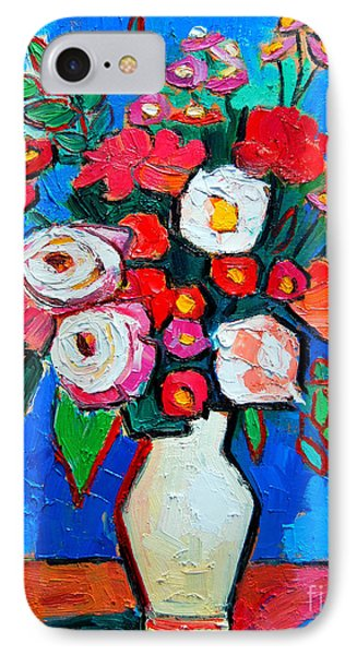 Flowers And Colors Phone Case by Ana Maria Edulescu