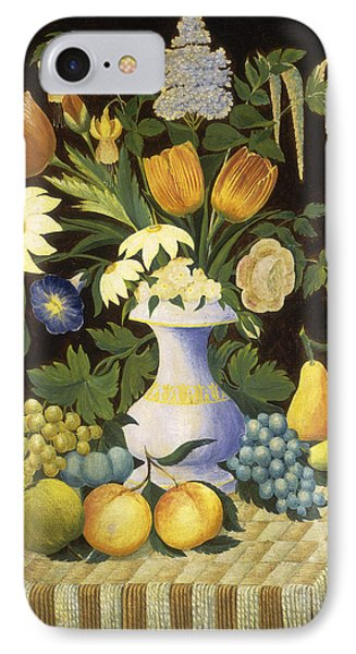 Flowers And Fruit IPhone Case by Celestial Images