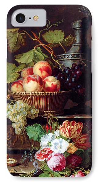 Flowers And Peaches Phone Case by Munir Alawi