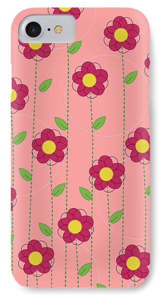 Flowers Phone Case by Christy Beckwith