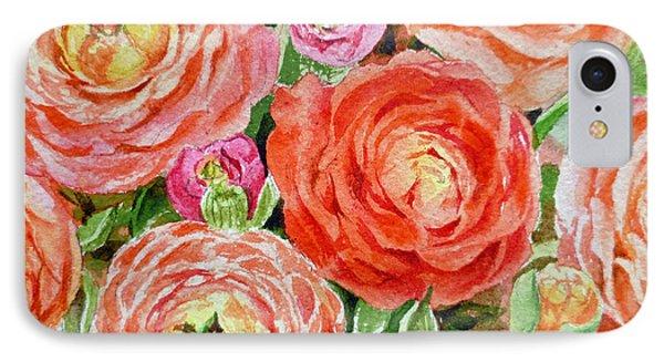 Flowers Flowers Flowers IPhone Case by Irina Sztukowski