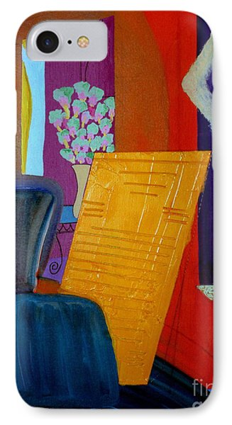 Flowers For Matisse IPhone Case by Bill OConnor