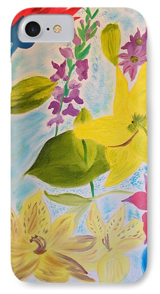 Flowers For Mom IPhone Case by Meryl Goudey