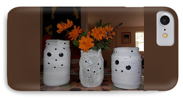 Halloween Flowers For Mummy IPhone Case