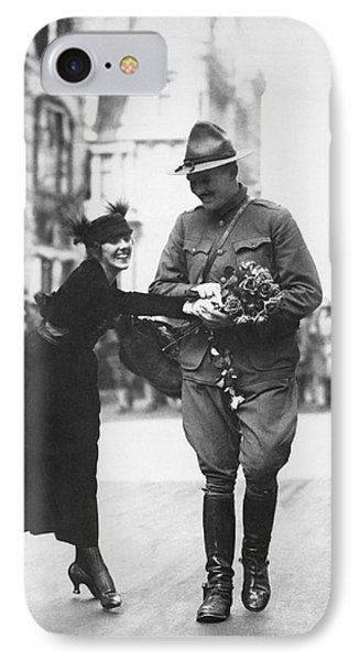 Flowers For Wwi Soldier IPhone Case