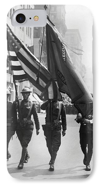 Flowers For Wwi Troops Parade IPhone Case by Underwood Archives