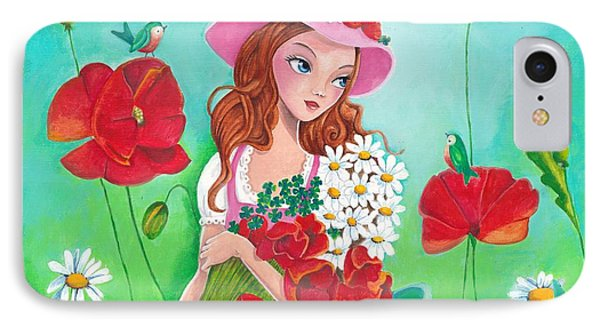 Flowers For You IPhone Case by Cartita Design