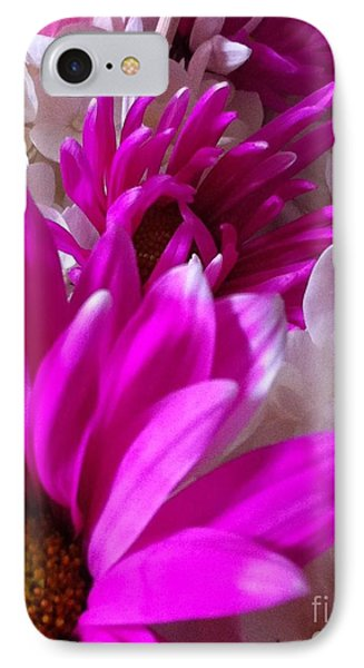 IPhone Case featuring the photograph Flowers In A Row by Gayle Price Thomas