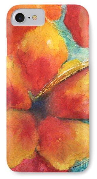 Flowers In Bloom IPhone Case by Chrisann Ellis