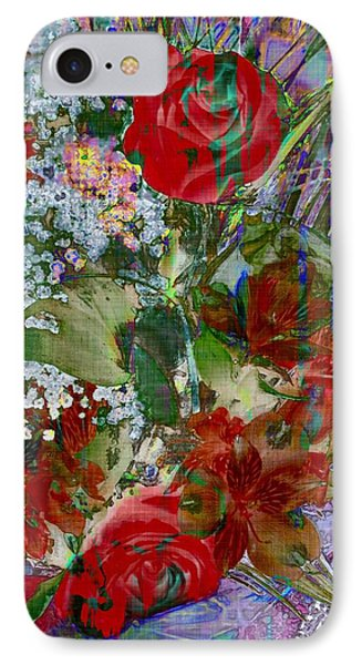 Flowers In Bloom IPhone Case by Liane Wright