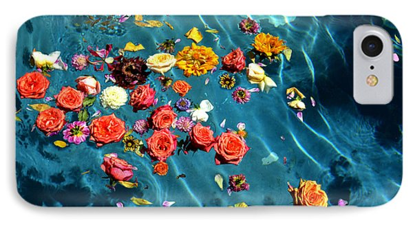 Flowers In The Pool IPhone Case