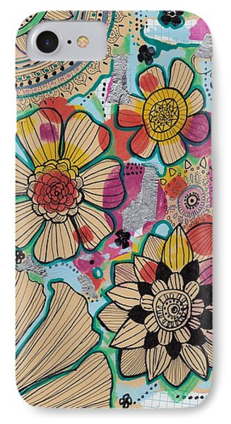 Flowers In The Sky IPhone Case