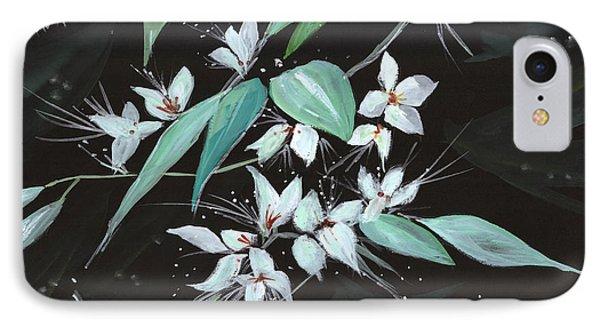 Flowers N Petals Phone Case by Anil Nene