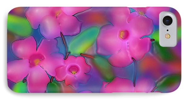 Flowers Of October IPhone Case by Latha Gokuldas Panicker
