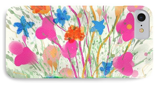 Flowers Of Spring IPhone Case by Mary M Collins