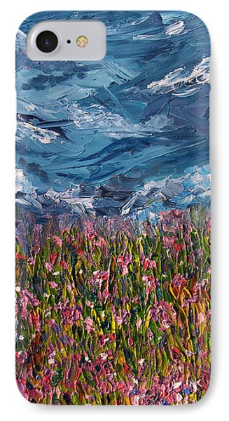 IPhone Case featuring the painting Flowers Of The Field by Meaghan Troup
