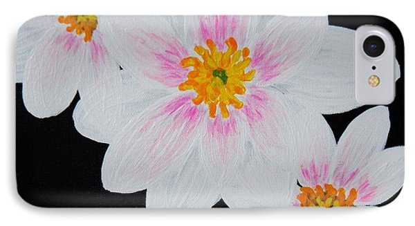 IPhone Case featuring the painting Flowers Of The Night by Celeste Manning