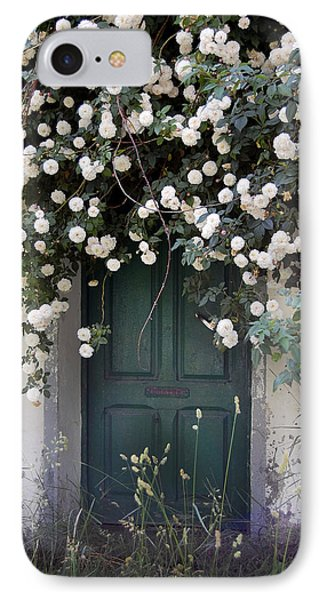 Flowers On The Door IPhone Case by Gina Dsgn