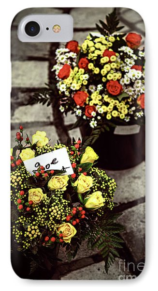 Flowers On The Market In France IPhone Case
