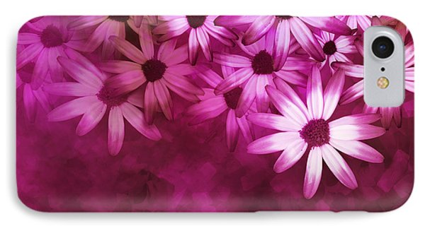 Flowers Pink On Pink Phone Case by Ann Powell