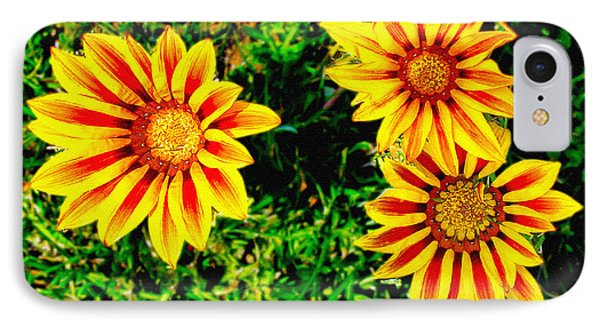 Flowers Thousand Trails  Phone Case by Bob and Nadine Johnston