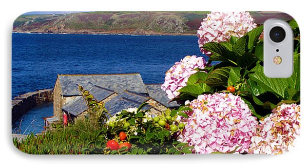 Flowers With A Sea View Phone Case by Terri Waters