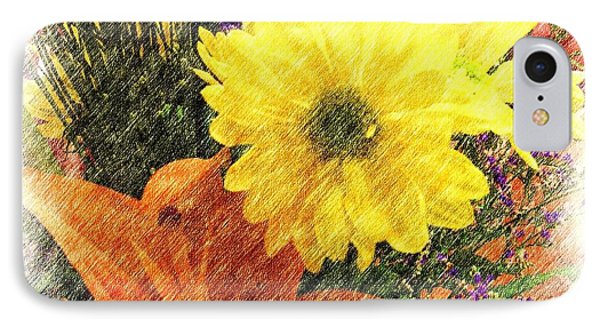 IPhone Case featuring the photograph Flowers With Love by Luther Fine Art