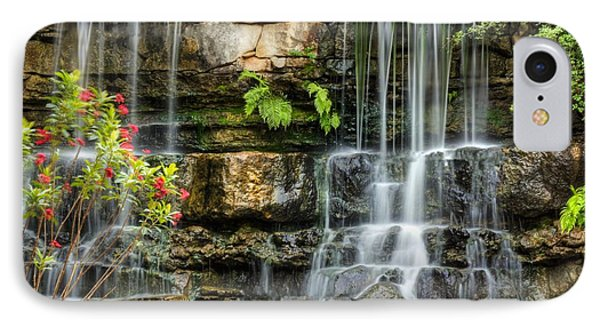 Flowing Falls IPhone Case by Dave Files
