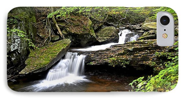 Flowing Falls Phone Case by Frozen in Time Fine Art Photography