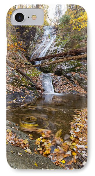 IPhone Case featuring the photograph Flowing Leaves by Alan Raasch