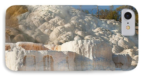 IPhone Case featuring the photograph Flowing Minerals by Wanda Krack