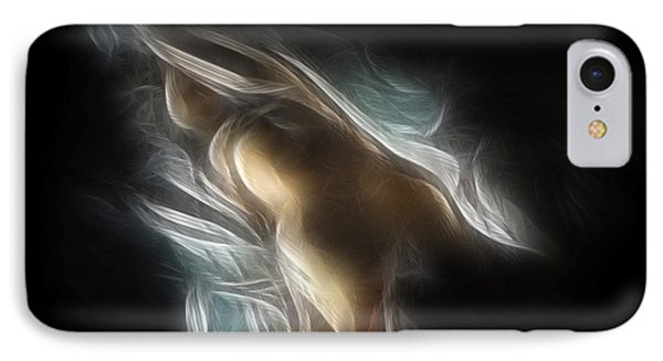 Flowing Nude 3689 Phone Case by Timothy Bischoff