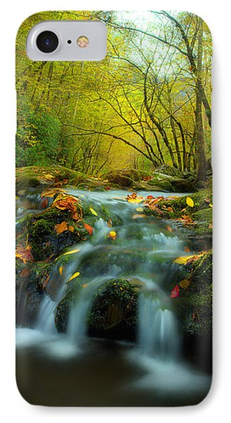 Flowing October IPhone Case