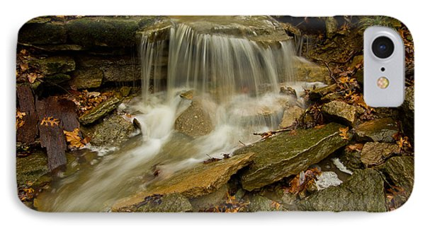 Flowing Over The  Rocks IPhone Case