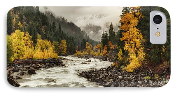 Flowing Through Autumn IPhone Case by Mark Kiver