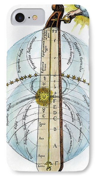 Fludd Universe, 1617 IPhone Case by Granger