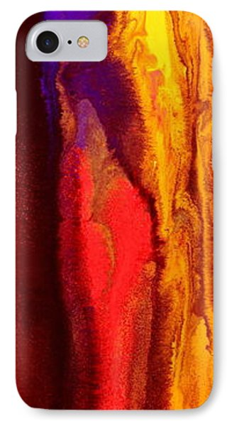 Fluid Art Summertime Vibe By Kredart Phone Case by Serg Wiaderny